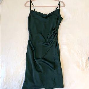 Boutique 1861 silk, cowl neck dress